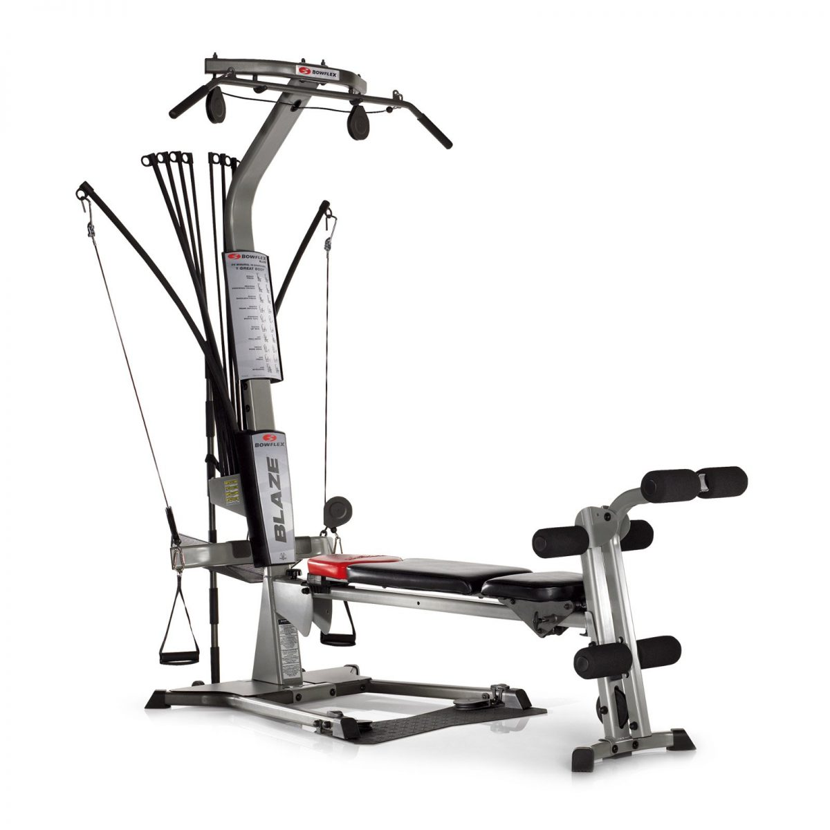 Product image a new grey Bowflex Blaze home gym machine