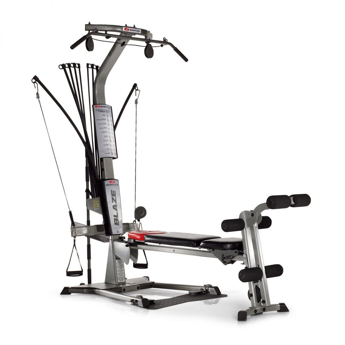 Product image a new grey Bowflex Blaze home gym machine