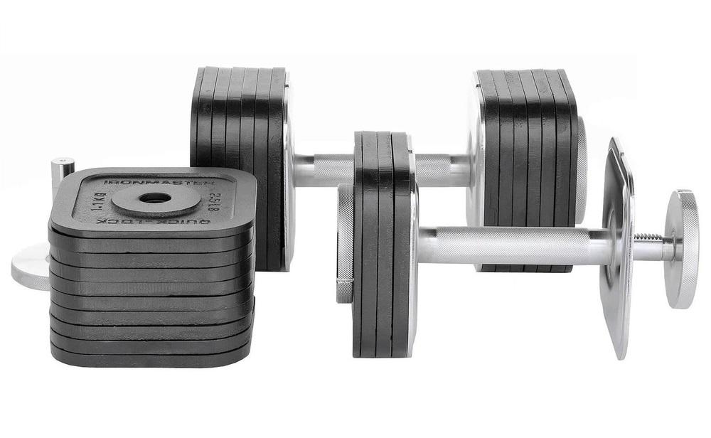 best adjustable dumbbell set bowflex vs powerblock vs ironmaster