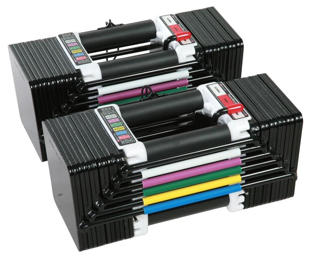 Powerblock classic adjustable dumbbell set reviews - Product Image Of The Powerblock Elite 70 Adjustable Dumbbells