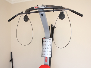 Image showing the top half of the Bowflex Blaze home gym