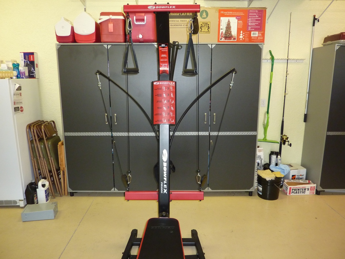 Image showing the top half of the Bowflex PR1000 home gym
