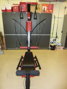 Image of the Bowflex PR1000 from the front view