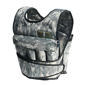 Preview image of the Cross 101 Weighted Vest in camouflage styling