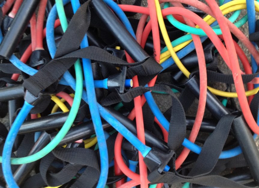Cover photo for the best resistance bands buying guide