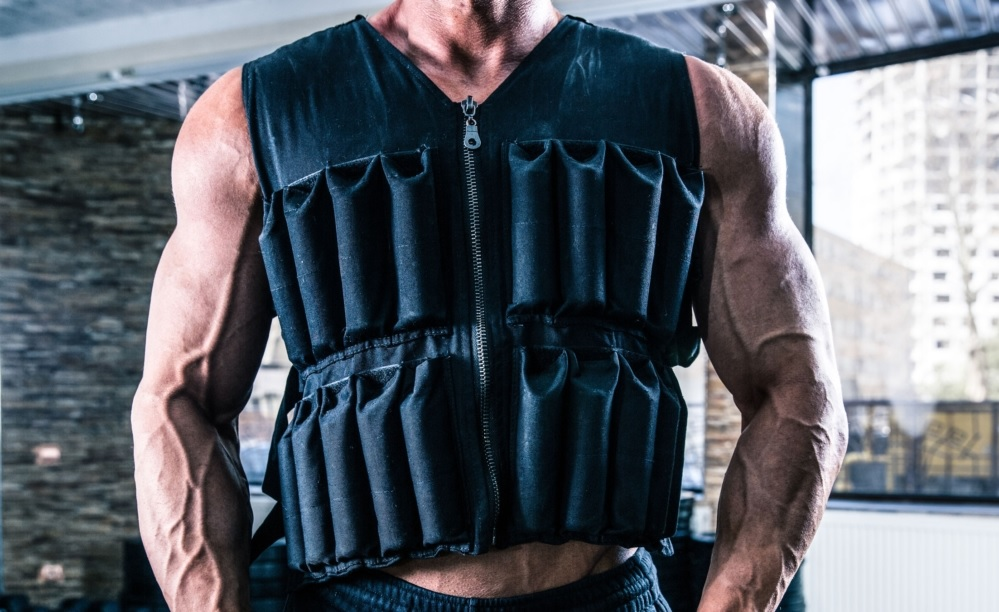 Cover photo for the best weighted vest buying guide