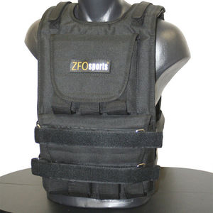 Preview image showing the ZFO Sports weighted vest displayed on a mannequin