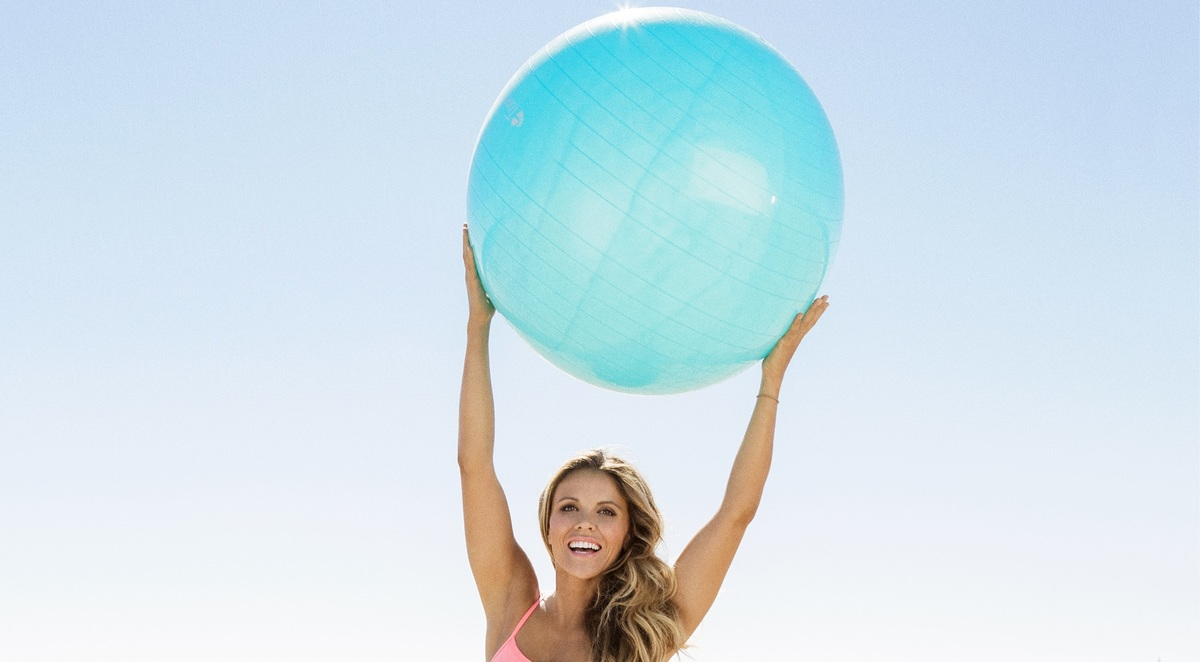 Cover photo for the best exercise ball buying guide