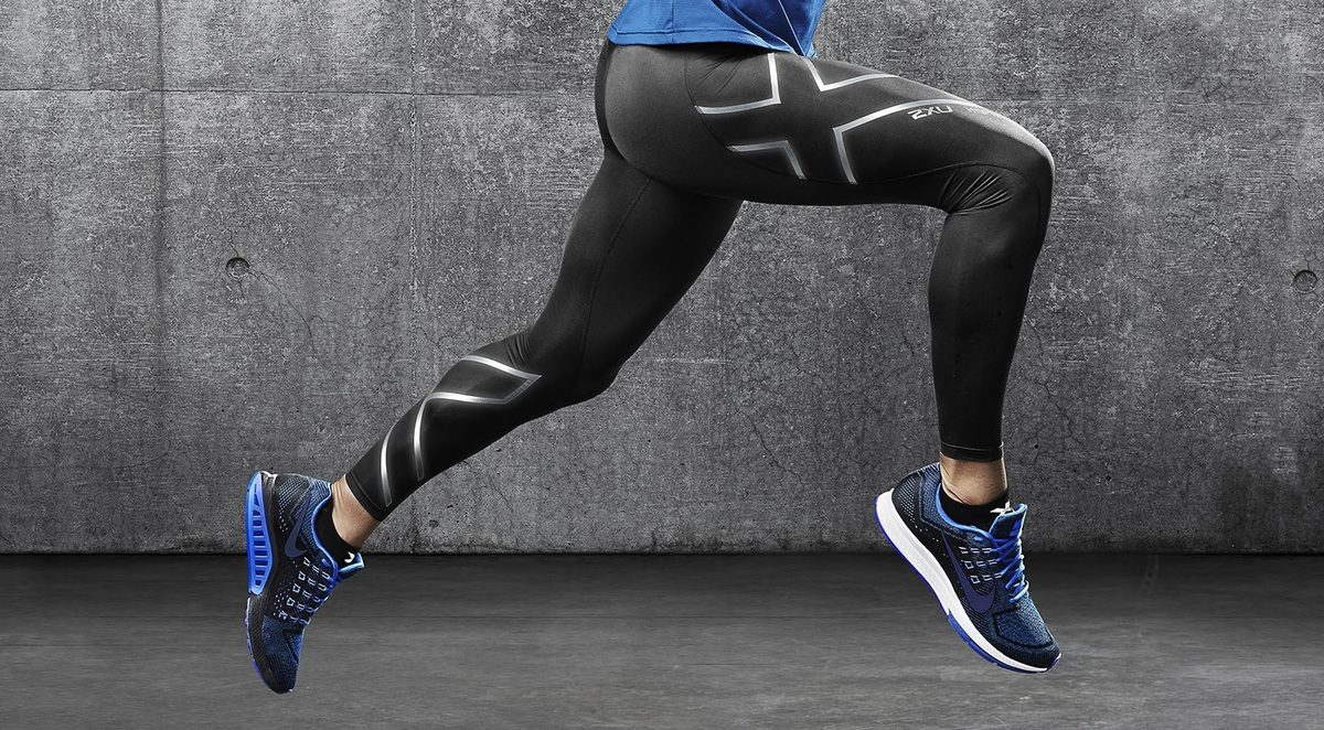 Cover photo for the best compression pants buying guide
