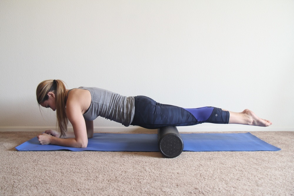 The ultimate foam roller exercise guide 25 moves and for Floor quad stretch