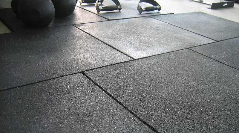 Cover photo for the home gym flooring buying guide