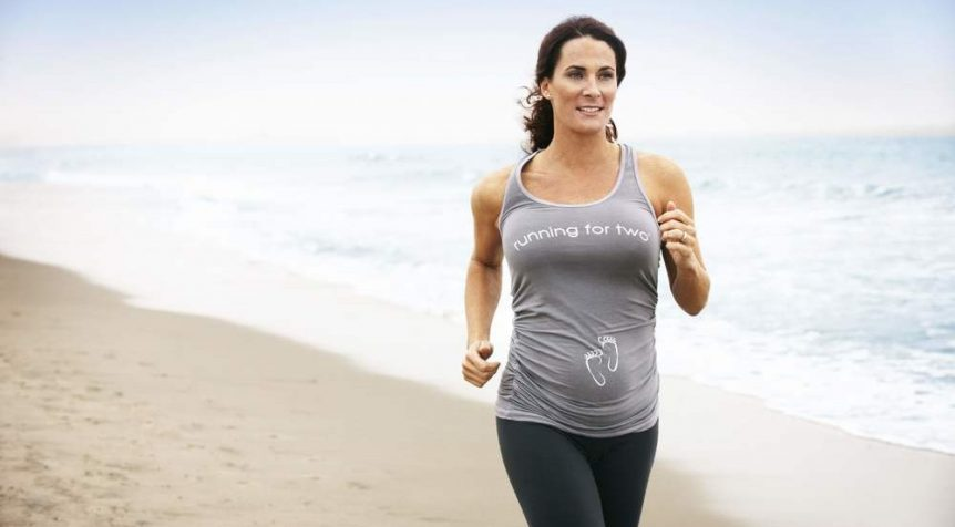 Running While Pregnant Cover Picture