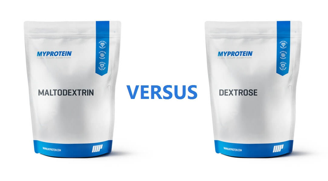 Image comparing maltodextrin vs dextrose