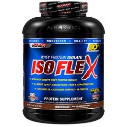 Image of a tub of AllMax Nutrition IsoFlex protein powder