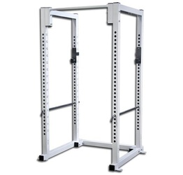 Image of a white TDS Wide Base Power Rack