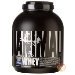 Image of a tub of Universal Nutrition Animal Whey protein powder