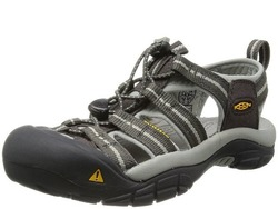 Image of a black and grey KEEN Women's Newport H2 Sandal