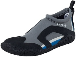 Image of a black and grey NRS Kicker Remix Women's Water Shoe