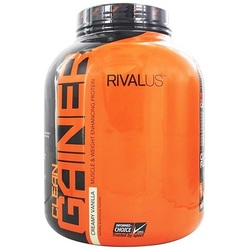 Image of a tub of RIVALUS Clean Gainer