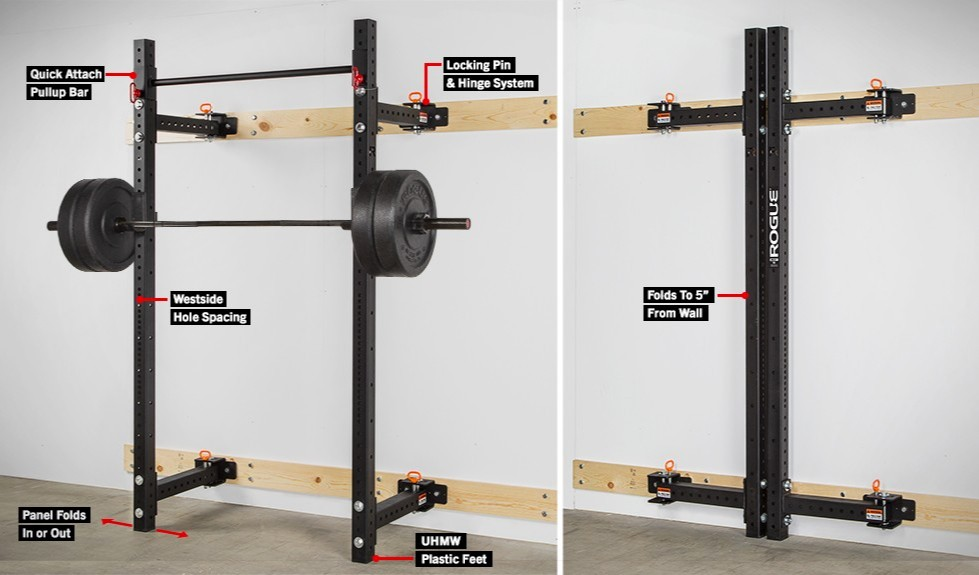 home gyms ideas garage - Finding The Best Cheap Squat Rack Reviews and Buyer s Guide