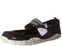Image of a black and white Speedo Women's Offshore Amphibious Water Shoe