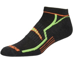 Image of a multi-colored Saucony Performance Sock