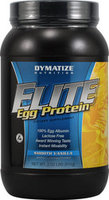 Product image of a bottle of Dymatize Elite Egg Protein