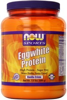 Product image of a bottle of NOW Foods Eggwhite Protein