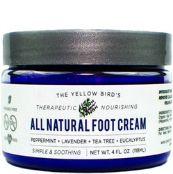 Product image of a cup of The Yellow Bird All Natural Foot Cream