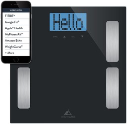 Product image of the Weight Gurus digital body fat scale