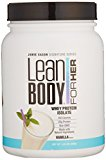 Image of the Jamie Eason Signature Series Whey Protein Isolate, Lean Protein Powder for Women with Natural Ingredients & No Gluten or Lactose, Natural Vanilla 1.5 Pound