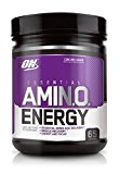 Image of the Optimum Nutrition Amino Energy, Concord Grape, Preworkout and Essential Amino Acids with Green Tea and Green Coffee Extract, 65 Servings