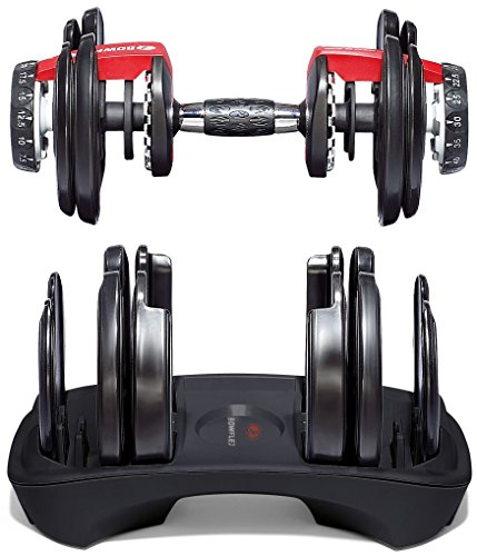Image of the Bowflex SelectTech 552 Adjustable Dumbbells (Pair)