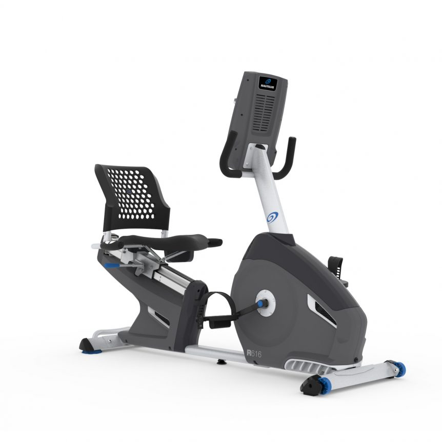 Nautilus R616 is a great recumbent exercise bike for seniors