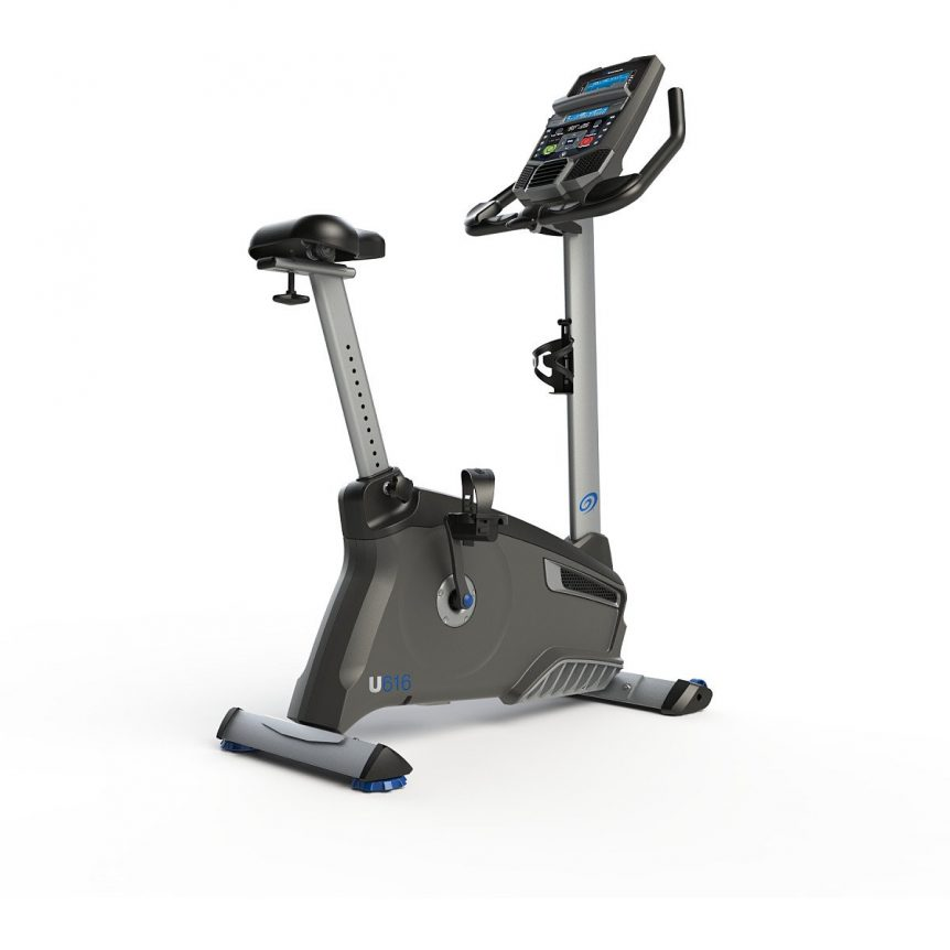 The Nautilus U616 is a great upright exercise bike for seniors