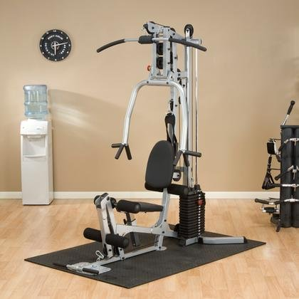 Image of the BSG10X Powerline Home Gym with Compact Footprint and Chest Harness