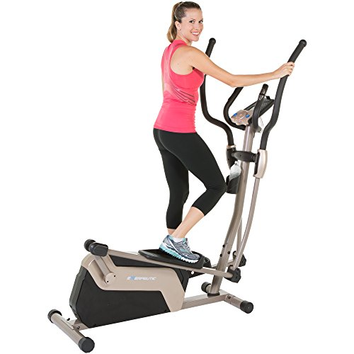 Image of the Exerpeutic 1318 5000 Magnetic Elliptical Trainer with Double Transmission Drive
