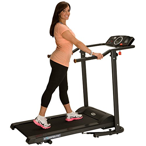 Image of the Exerpeutic TF1000 Ultra High Capacity Walk to Fitness Electric Treadmill, 400 lbs