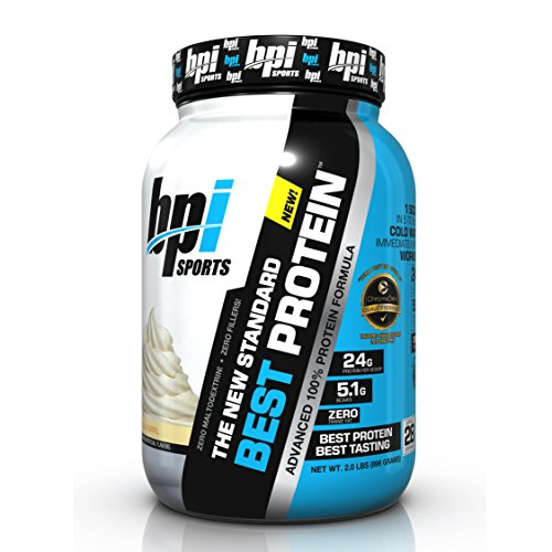 Image of the BPI Sports Best Protein Advanced 100% Protein Formula, Vanilla Swirl, 2 Pound
