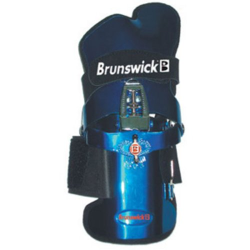 Image of the Brunswick Powrkoil Wrist Support (Blue, Right Hand, X-Large)
