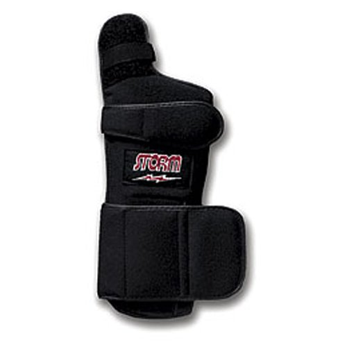 Image of the Storm Xtra-Hook Right Hand Wrist Support, Black, Medium