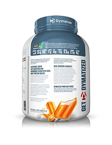 Image of the Dymatize ISO 100 Whey Protein Powder Isolate, Orange Dreamsicle, 5 lbs