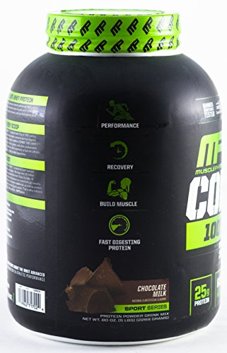 Image of the MusclePharm Combat 100% Whey Protein Powder, Chocolate Milk, 5 Pound, 68 Servings