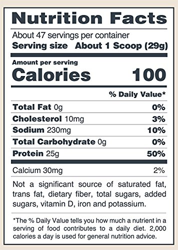 Image of the Isopure Zero Carb Protein Powder, 100% Whey Protein Isolate, Keto Friendly, Unflavored, 3 Pounds (Packaging May Vary)
