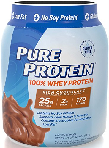 Image of the Pure Protein® 100% Whey Powder Rich Chocolate, 1.75 pounds