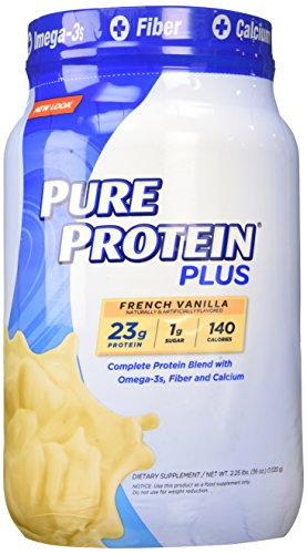 Image of the Pure Protein Plus French Vanilla Dietary Supplement, 2.25 Pound