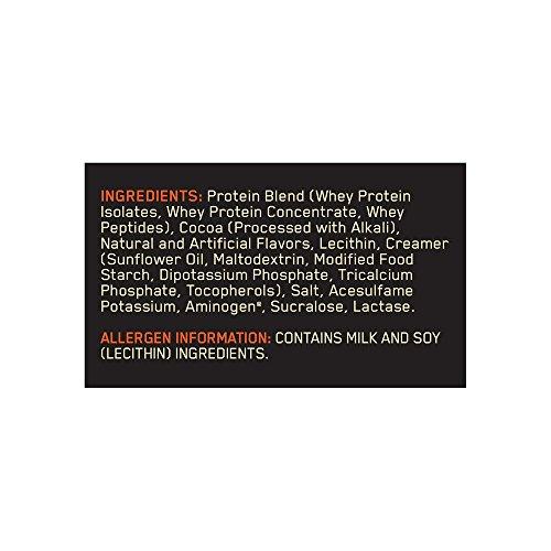 Image of the Optimum Nutrition Gold Standard 100% Whey Protein Powder, Extreme Milk Chocolate, 5 Pound