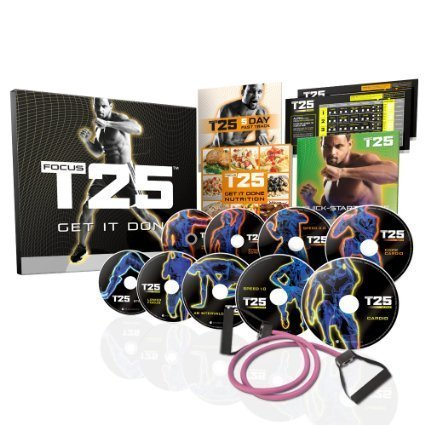 Image of the FOCUS T25 Shaun T's NEW Workout DVD Program—Get It Done in 25 Minutes