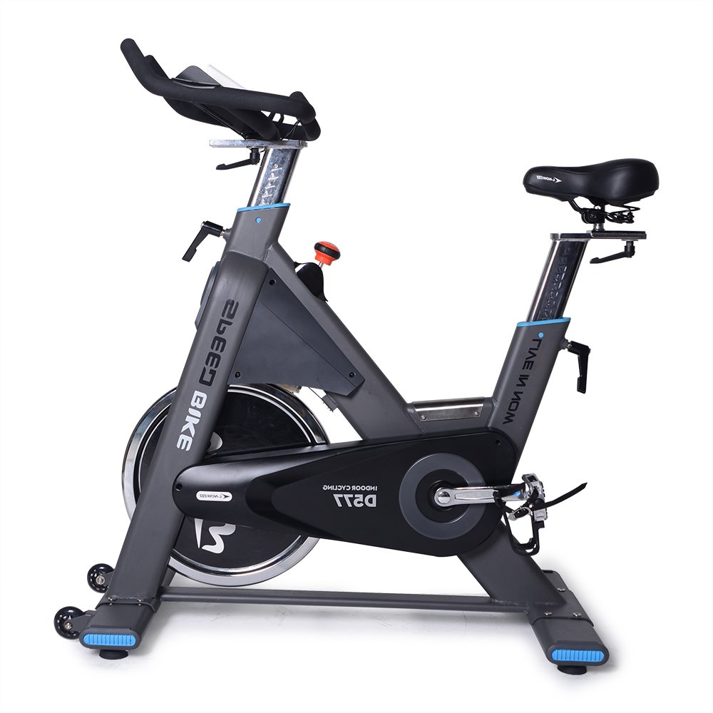 Image of the L NOW Pro Indoor Cycle Trainer LD577- Exercise Bike Commercial Standard by (Black)