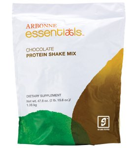 Image of the Arbonne Chocolate Protein Shake, 2lb. 15.6oz.